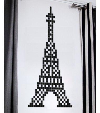 Stickaz Tour Eiffel Sticker Eiffel Paris Idée Cadeau Déco - Eiffel chambre de la tour des idees de decoration