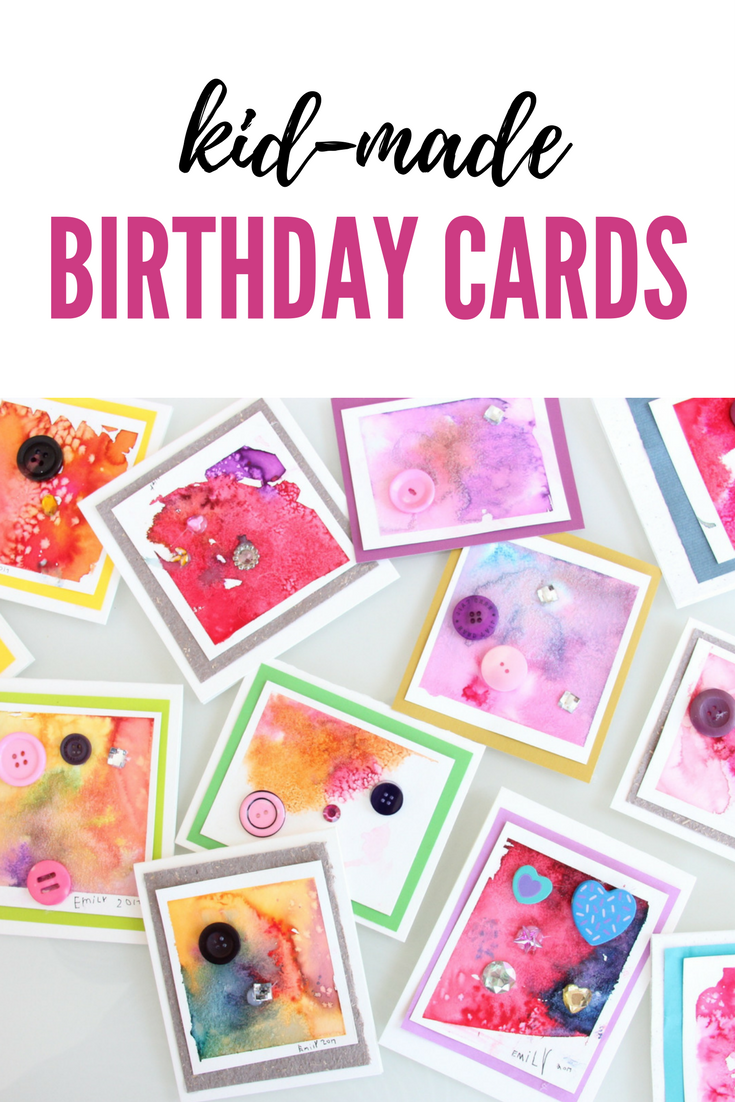Diy Birthday Cards One Of A Kind Art Cards Made In Bulk Full
