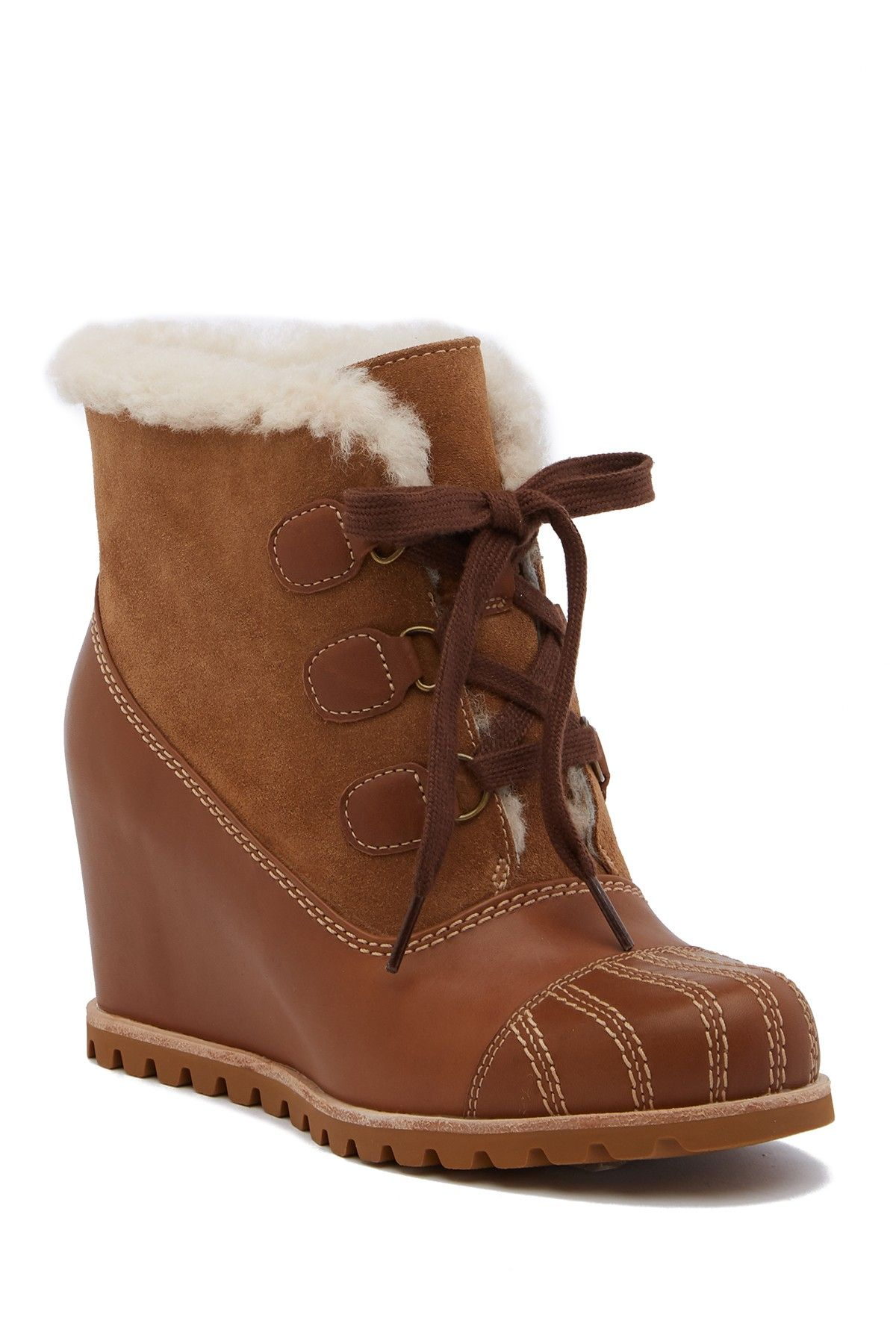 d7da9ca6308 UGG Alasdair Waterproof Wedge Bootie | Products | Uggs, Wedges, Shoes