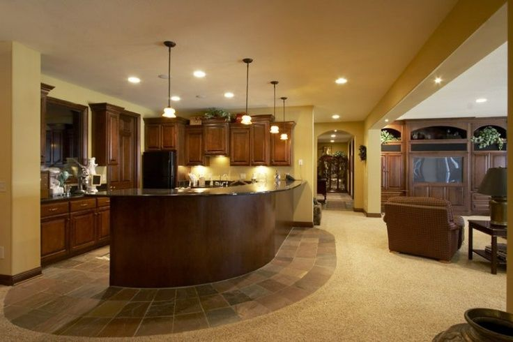 Awesome Finished Basement Designs