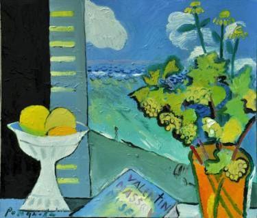 My dream about Valentin Massov s Museum Painting by Olga Romanova