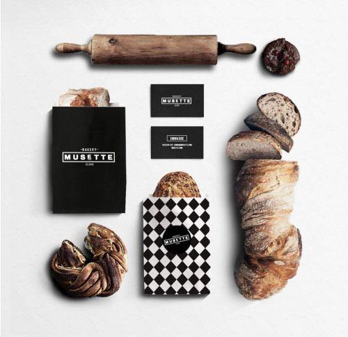 Design and Paper | Musette Bakery Branding by Judit Besze | http://www.designandpaper.com
