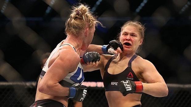 Ronda Rousey se rinde por fin a Holly Holm