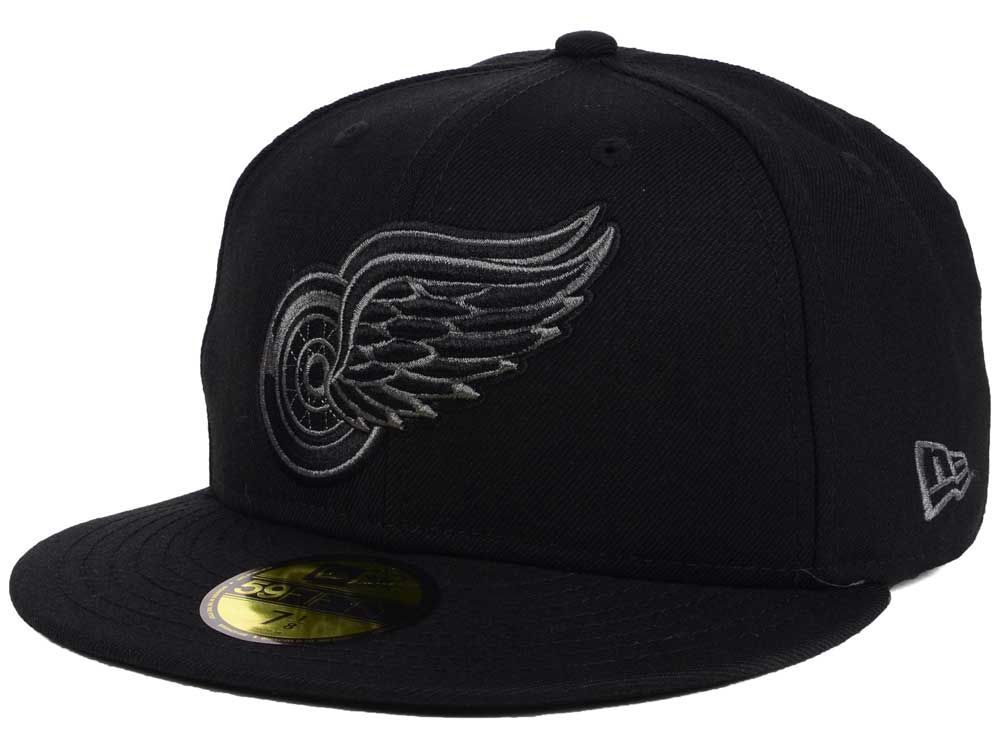 best service 84ace aef75 20874609 - Detroit Red Wings New Era NHL Black Graph 59FIFTY…