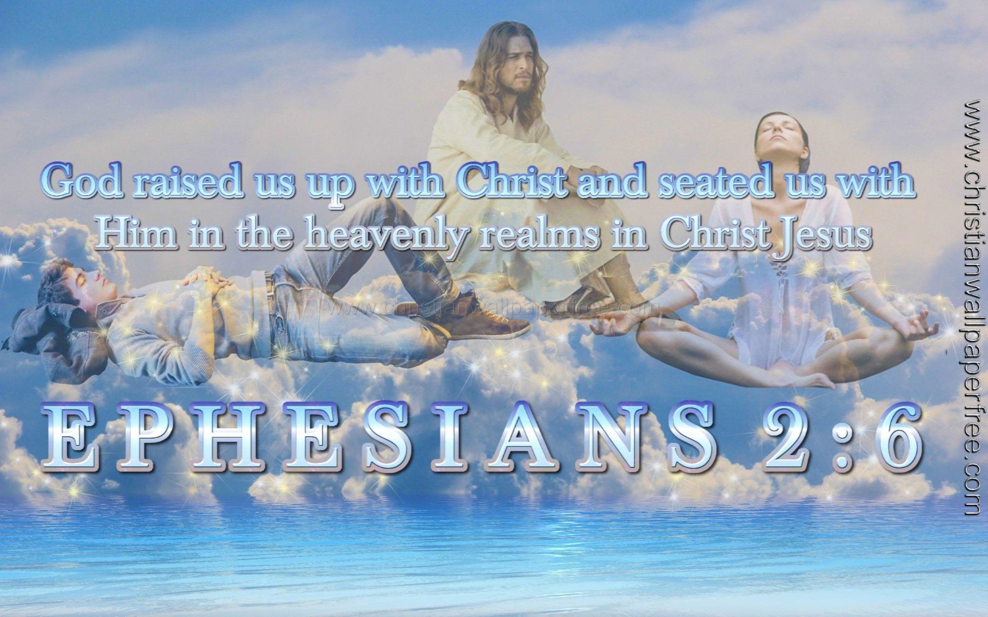 Ephesians 2 Verse 6 A Bin