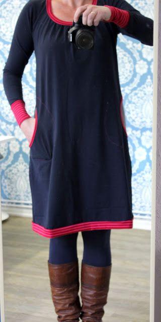 Kleid mit taschen selber nahen