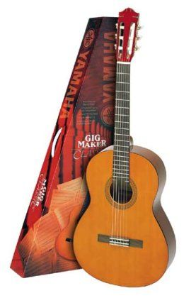 Yamaha C40 Classical Acoustic Package Yamaha Guitar Yamaha Acoustic Classical Acoustic Guitar