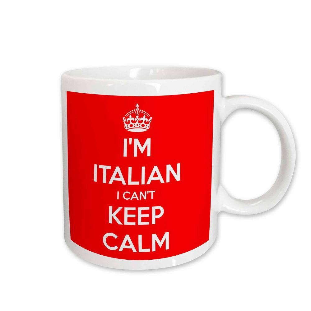 3dRose EvaDane Quotes 11 oz White Ceramic Coffee Mug I