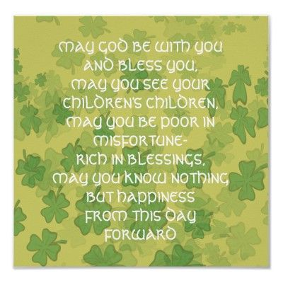 Irish Wedding Blessing   Here comes the bride......   Pinterest ...