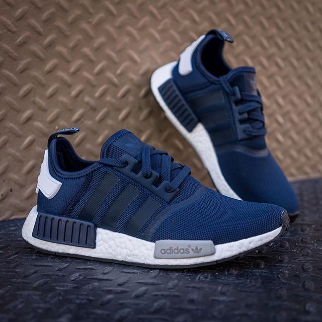 Perfect Price Blue Adidas Nmd Pk Runner Deep Unisex Shoe Shoes