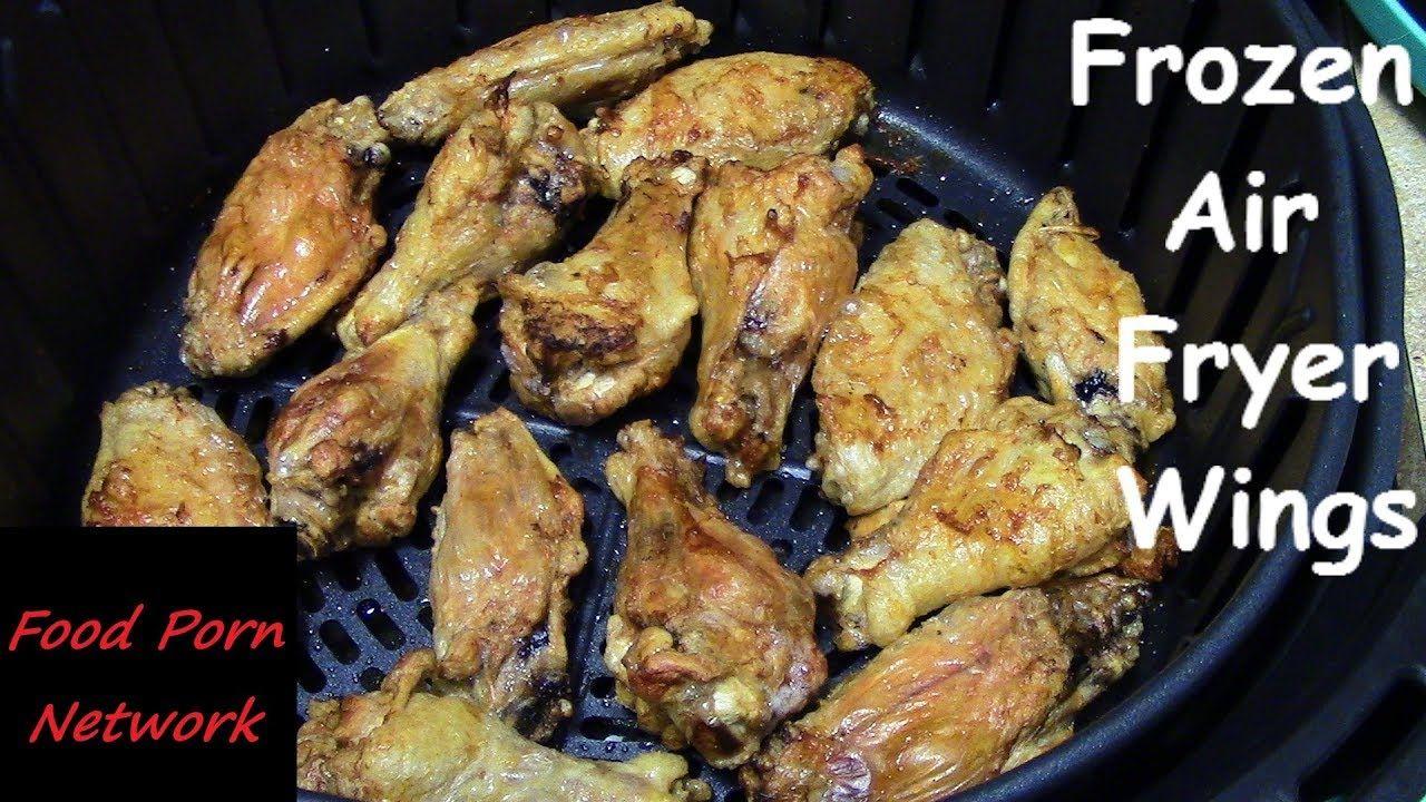 Frozen Air Fryer Chicken Wings Air Fryer Recipes Air