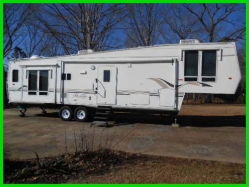 2004 Franklin Heritage 40' 5th Wheel 3 Slide Outs EXTRAS Alabama