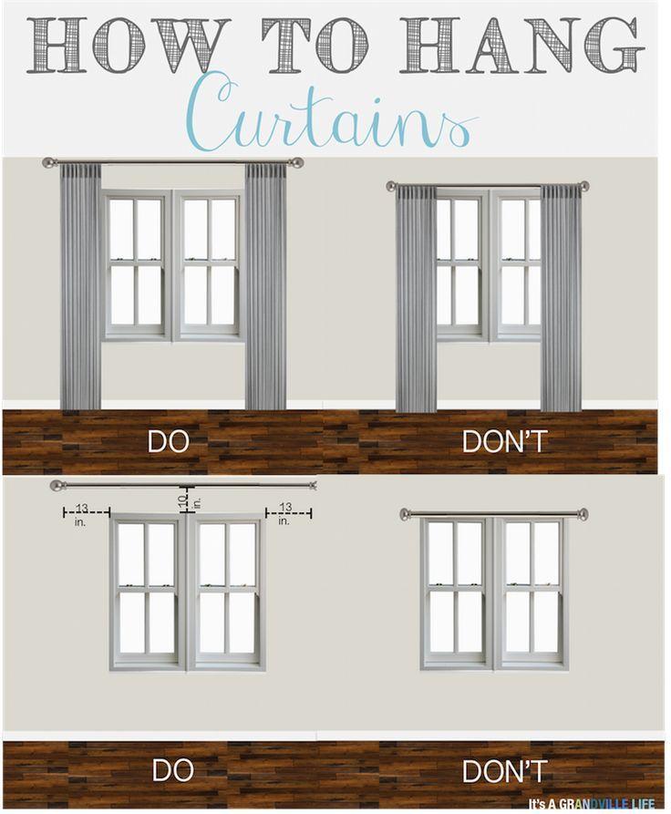 Tipps & Tricks vom Donnerstag: Vorhänge aufhängen #diycurtains