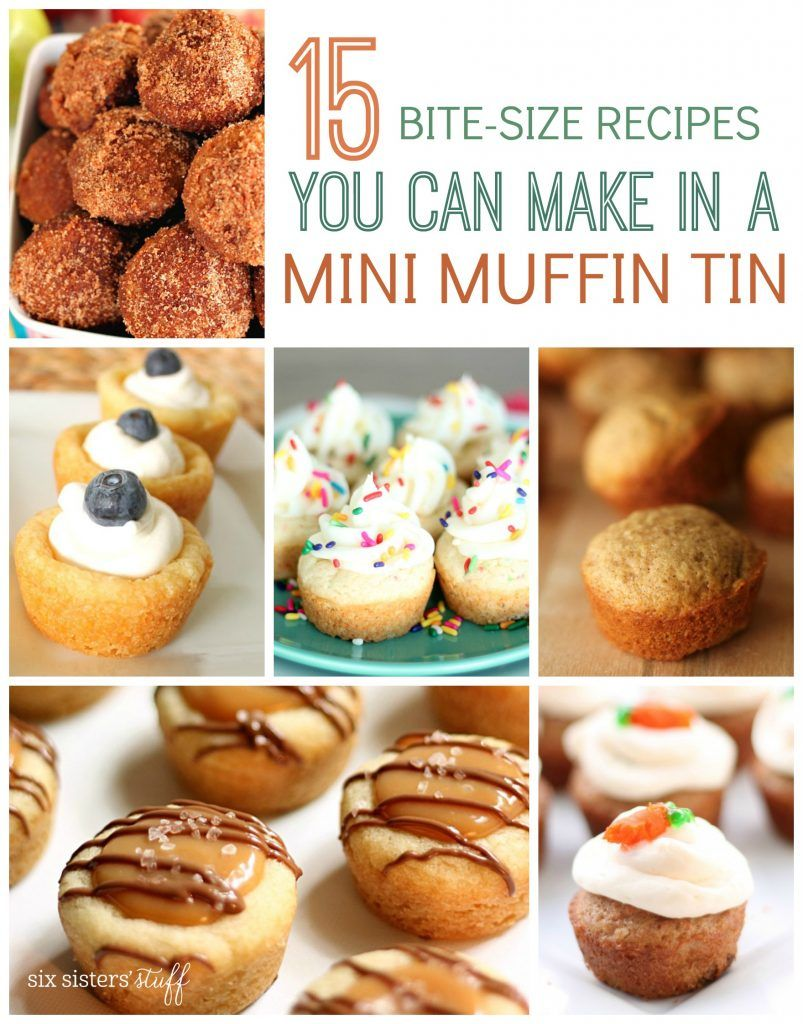 15 Bite-Size Recipes You Can Make in a Mini Muffin Tin