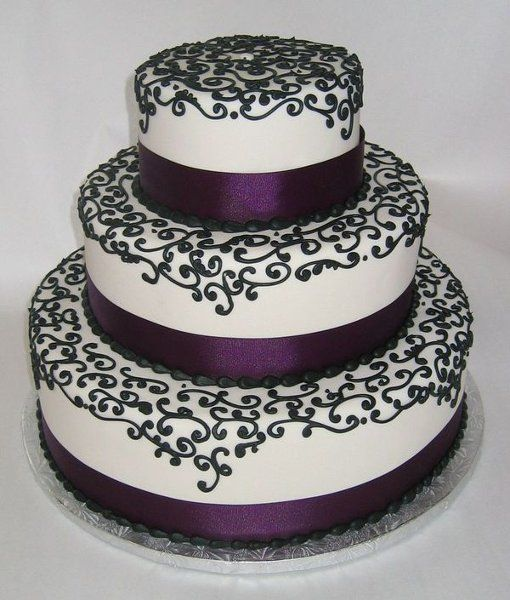 Purple And Black Wedding Decorations For Outdoor Pictures