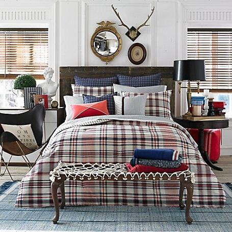hilfiger vintage plaid comforter tommy hilfiger usa fashion