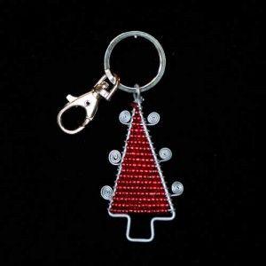 Orecchini fai da te di Natale Come creare dei bellissimi orecchini fai da te utilizzando le perline orecchini a forma di albero di Natale e Gioielli fai da te con perline a tema natalizio