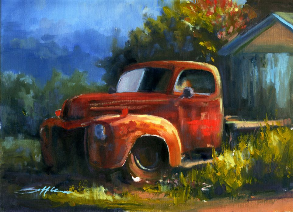 Old Truck Montana With Images Old Trucks Classic Cars Trucks
