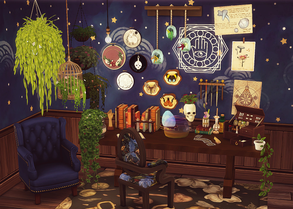 Pin by Caitlynn Shumaker-Pederson on Witchy Sims 4 | Sims ...