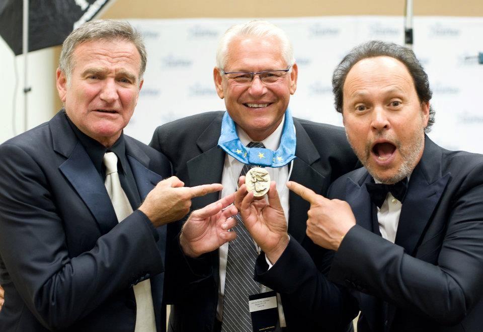 Comedians get funny at Starkey Hearing Gala 2012 at Saint Paul RiverCentre in Saint Paul Minn. Aug. 4, 2012 (Photo: Starkey Hearing)
