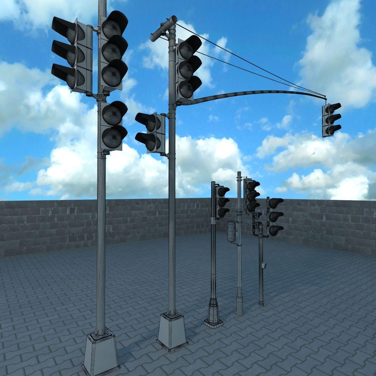 Traffic Lights Set Traffic Light Lights Settings
