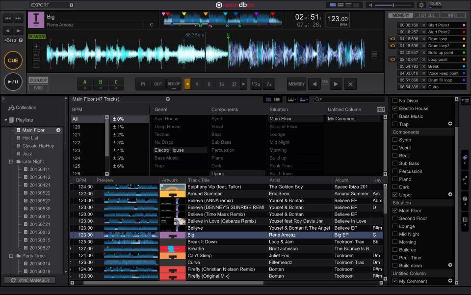 DJ SOFTWARE rekordbox