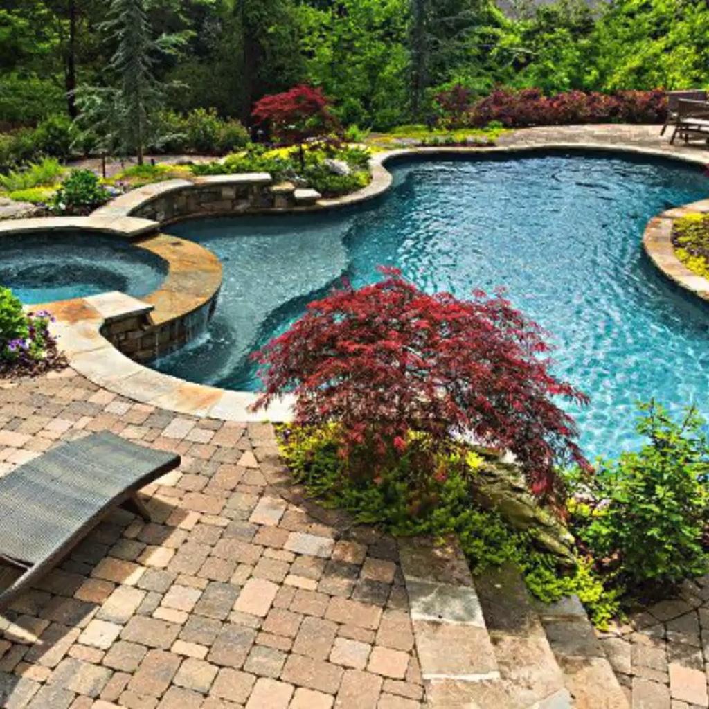 30 Admirable Small Swimming Pool Designs Ideas Small Pool Design Pool Landscaping Swimming Pool Landscaping