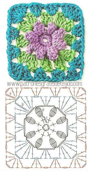 Colección de los mejores grannys crochet / Descarga Gratis ...