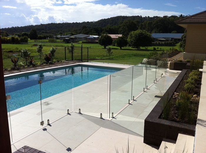 Glass Pool Fence frameless glass pool fence - google search | swimming pools