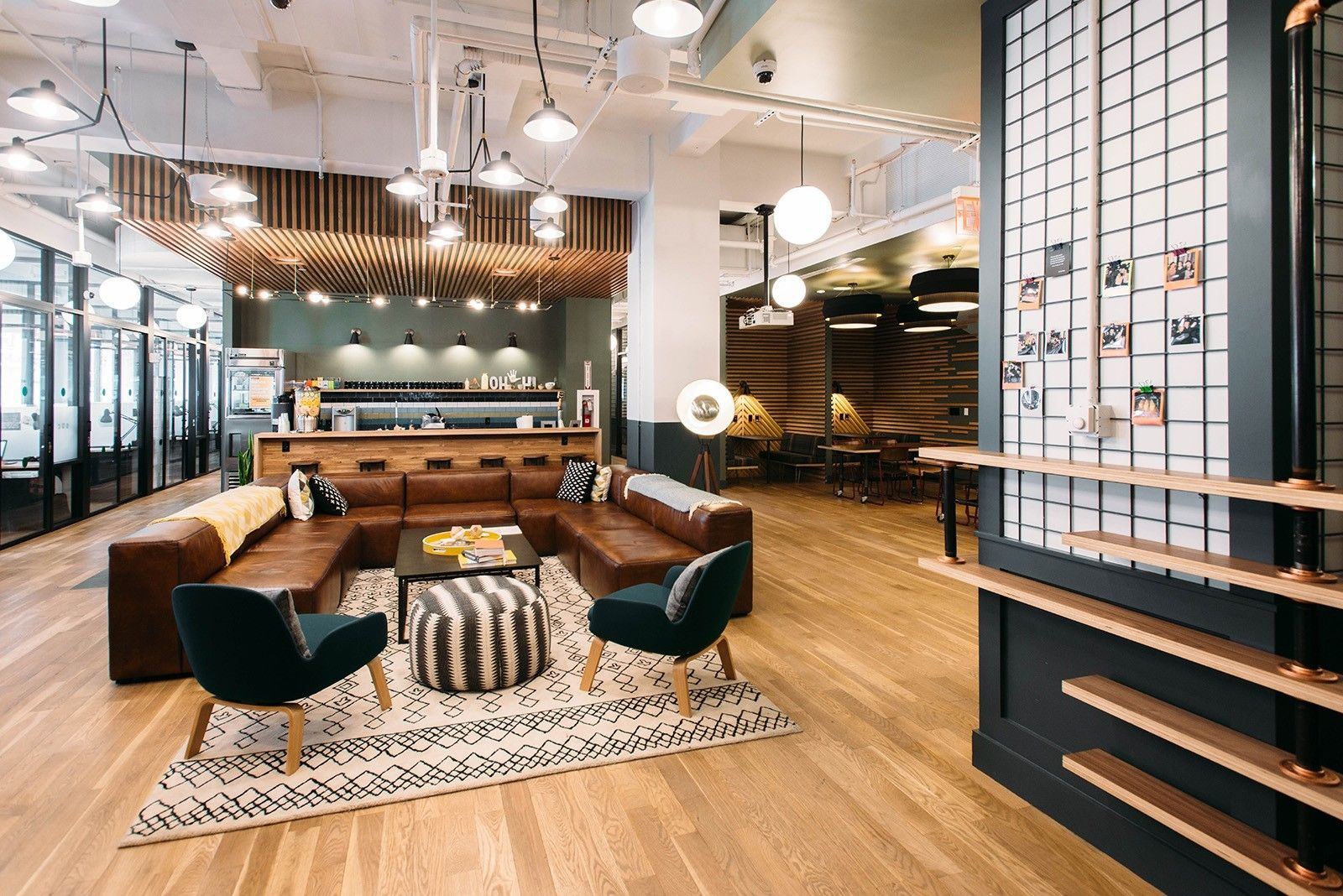 A tour of wework th ave office spaces renting and spaces