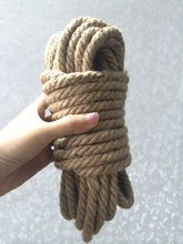 Super Thick 10M hemp rope provocative alternative rough rope bdsm bondage sex products for couples(China (Mainland))