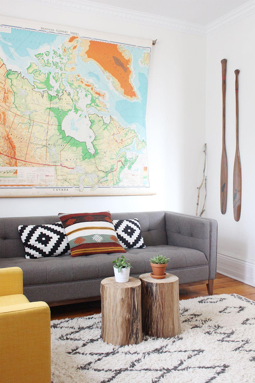 Living Room Style Kilim Pillow Grey Sofa Awesome Rug