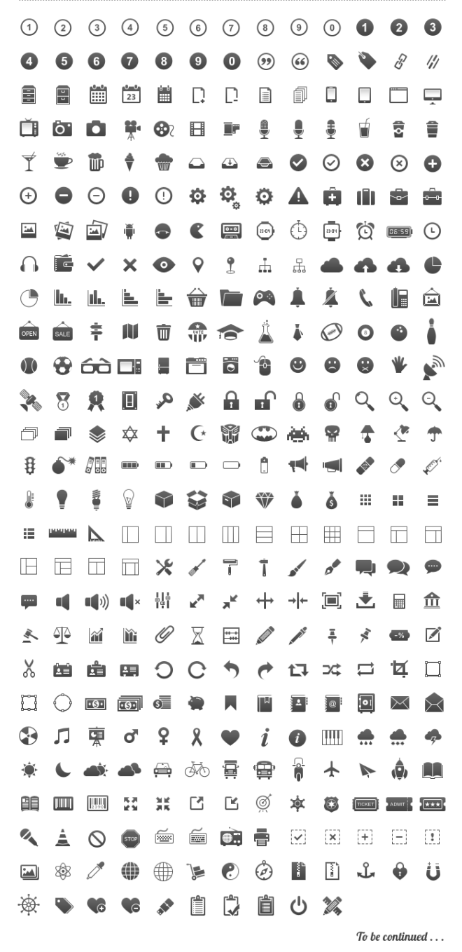 20 Free Icon sets for graphic and web designers   Download now ...