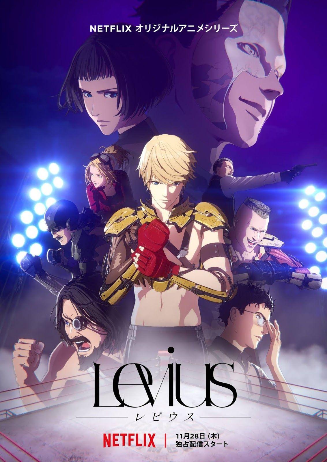 El anime ''Levius'', estrena avance publicitario en 2020
