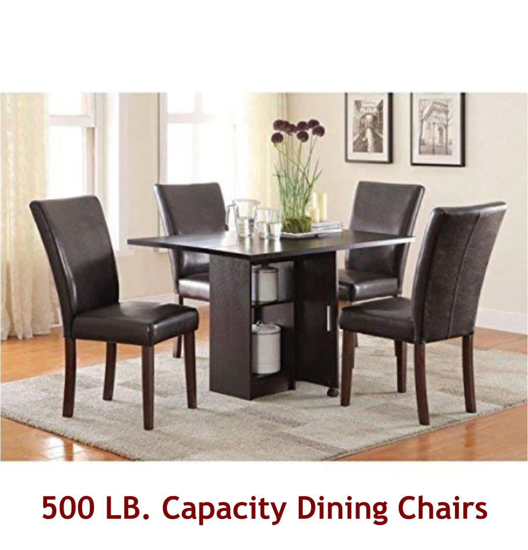 500 Lb Capacity Dining Chairs For The Big And Tall Free Shipping