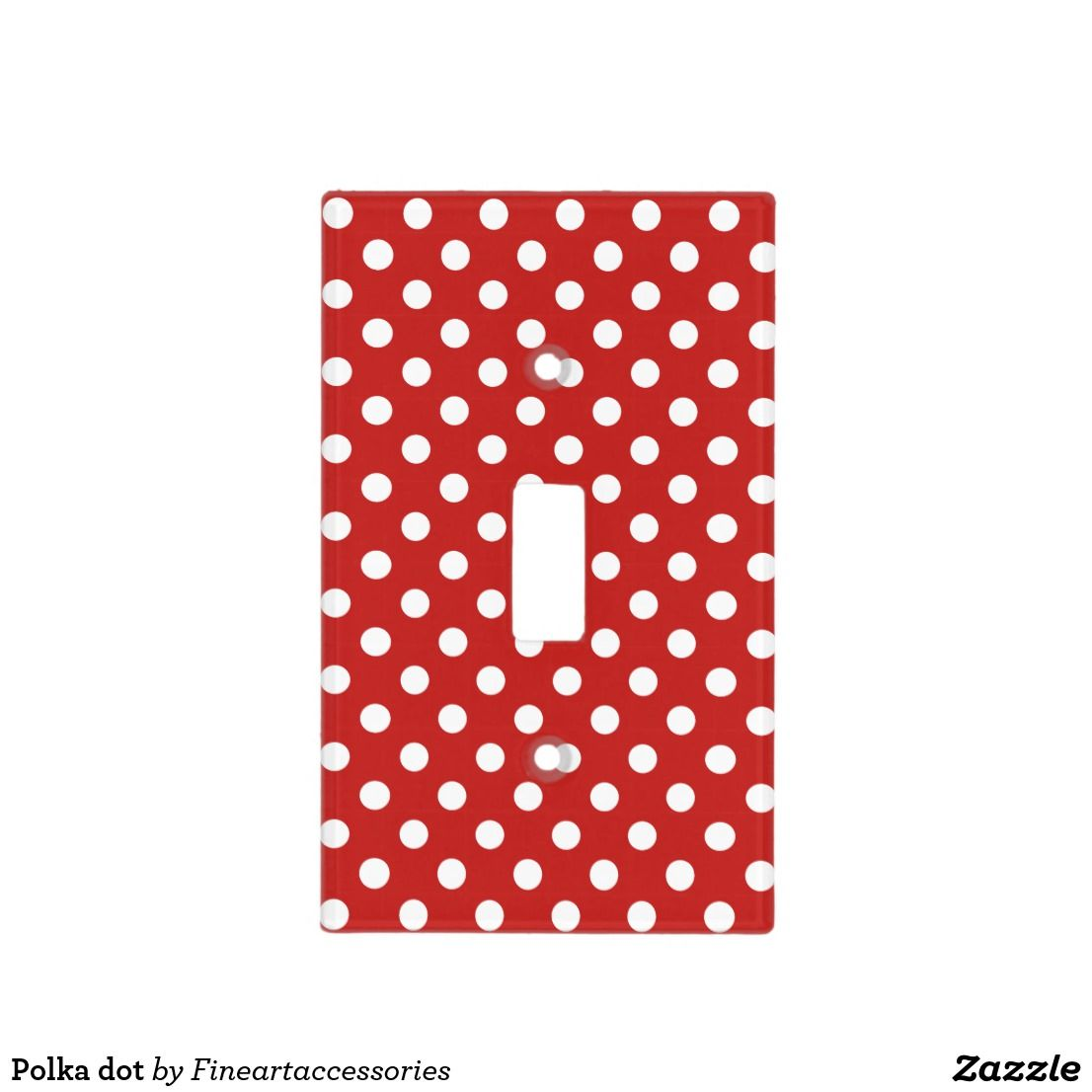 Polka Dot Light Switch Cover Switch Covers Light Switches And Lights