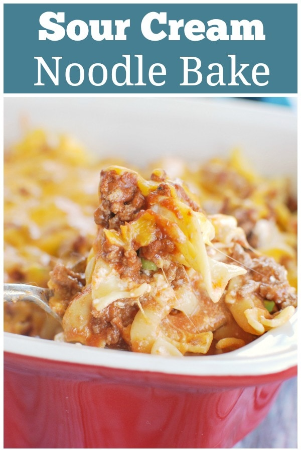 Pin By Geri Hotchkiss On Foodforthought In 2020 Sour Cream Noodle Bake Sour Cream Recipes Sour Cream Pasta