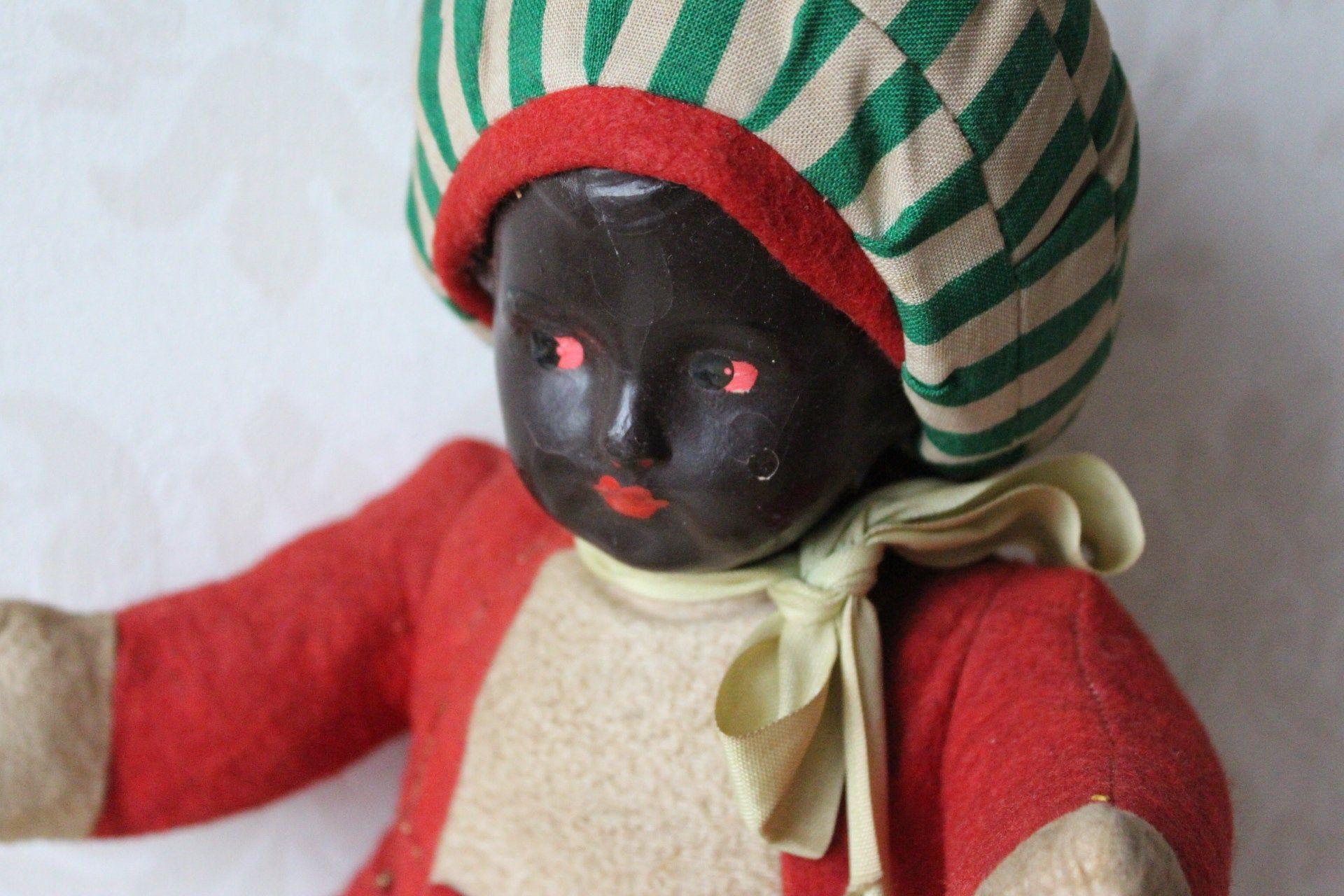 Old Toy Mohr Doll Vintage Tube Doll Old Mohrendoll 20 Er 30 Er