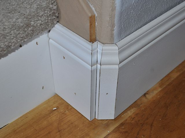 Image Result For Stairs Baseboard