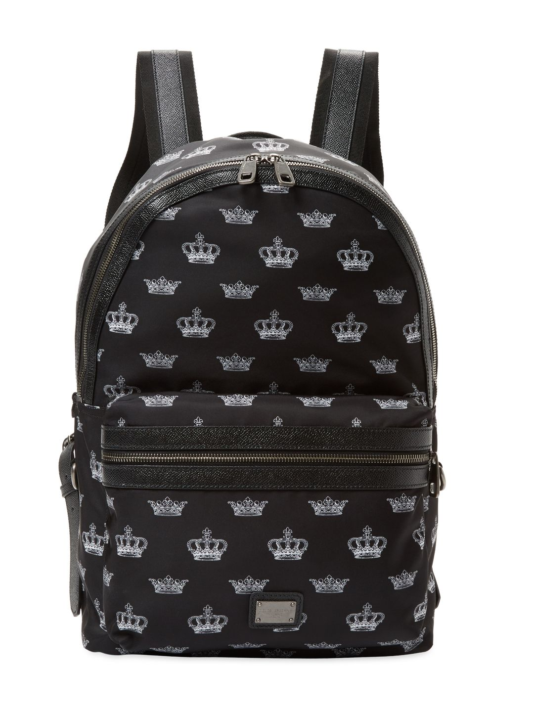 DOLCE   GABBANA CROWN BACKPACK - BLACK.  dolcegabbana  bags  nylon   backpacks   783426e879
