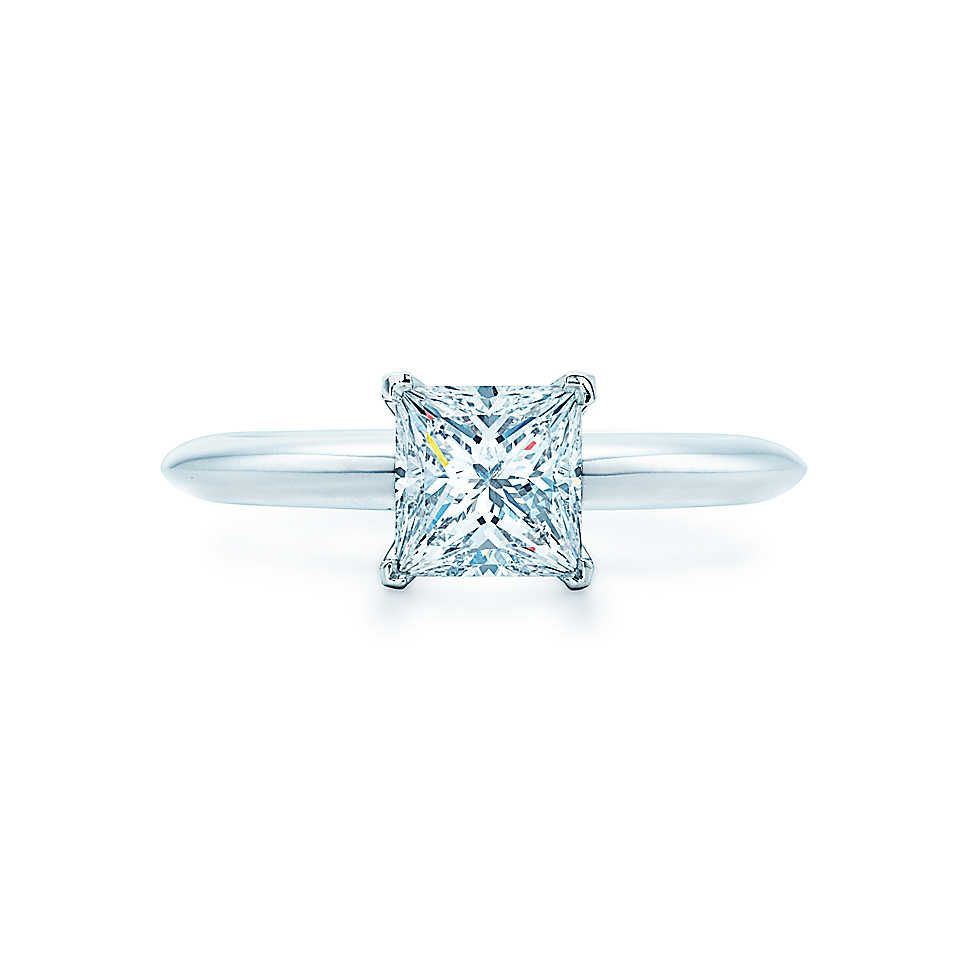 Fancy All I want is a Tiffany plain princess cut ring This is perfect No