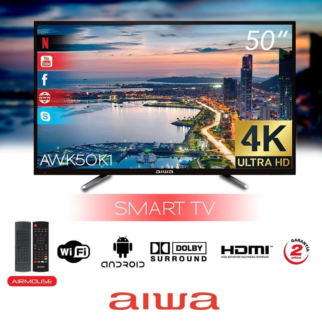 Usd 479 Aiwa Tv Smart Aw50b1sm Con Imagenes Uruguay Electronica
