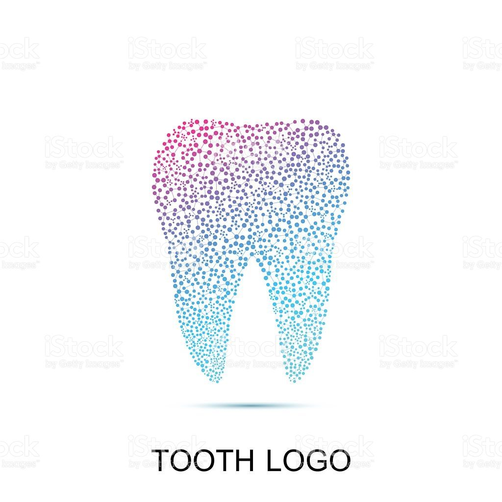 Tooth logo. Medical design. Dentist office icon. Vector