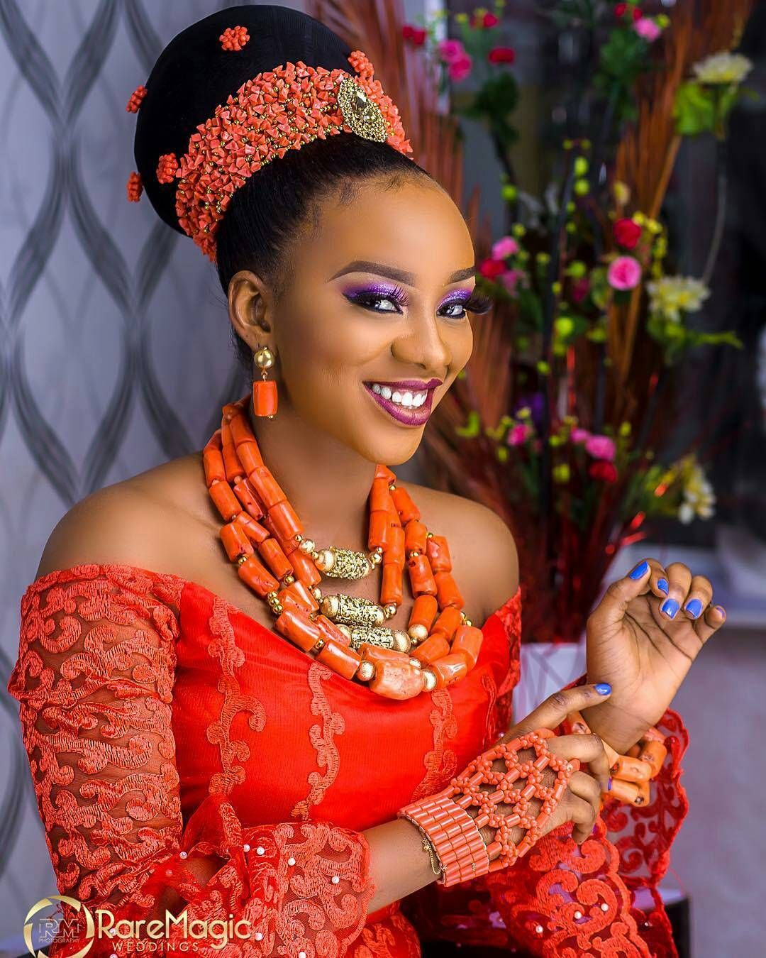 #toomuchsauce #igbo Bridal Trad Look @msyewieo Make Up By