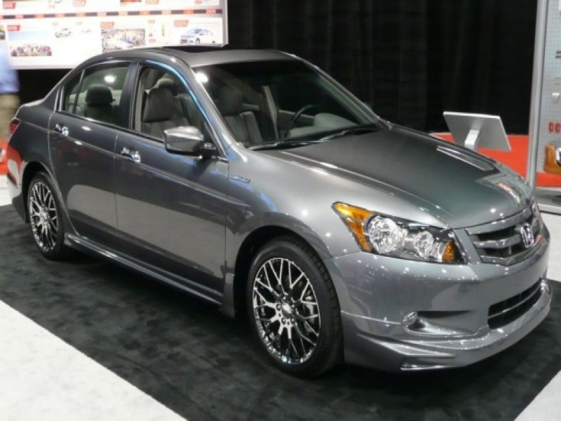 2009 Honda Accord Sedan Cars 2010 Honda Accord Sedan With Mugen Accessories  U2013 Auto Shows | Car