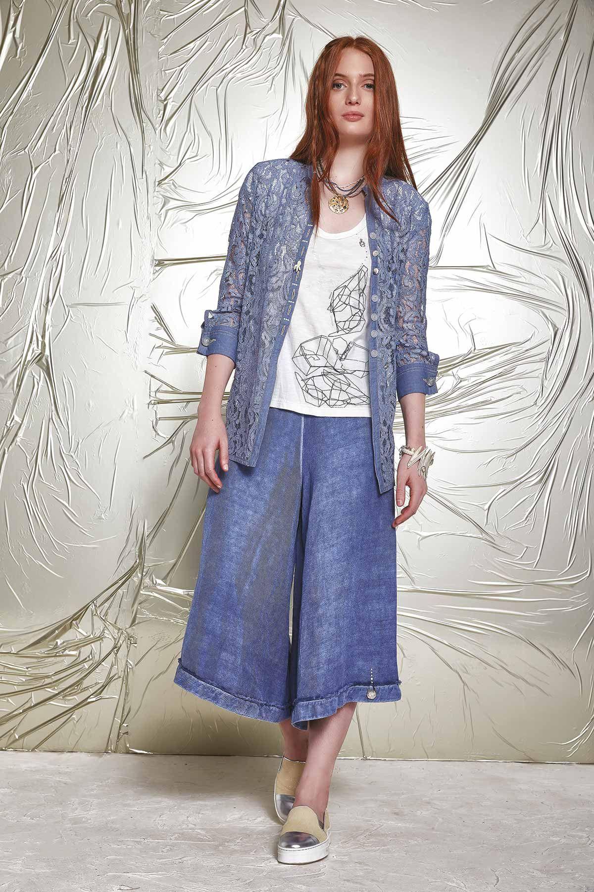 DENIM - Denim trousers Daniela Dallavalle bd0u6dr