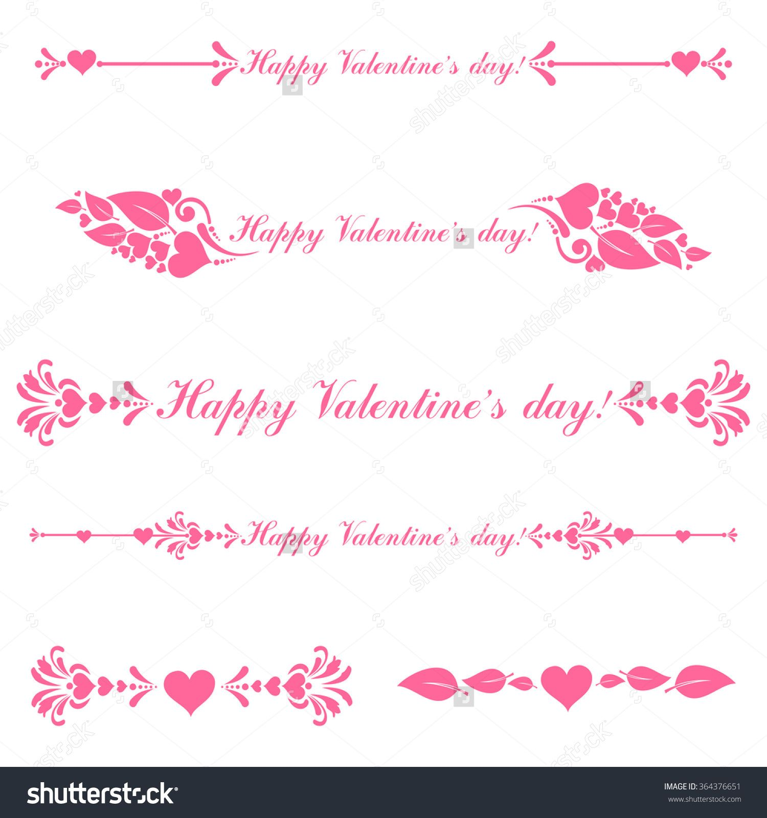 Elegant royal frame with crown vector colourbox - Vector Decorative Design Elements And Page Decor Happy Valentine Day Decor