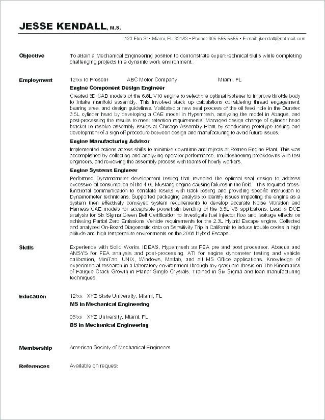 Ideas For Resume Objectives Objective On A Examples General