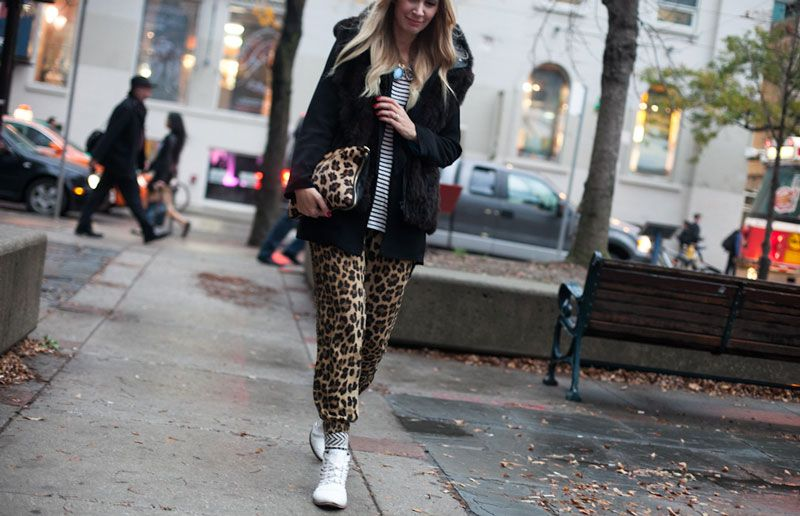 Street Style, Toronto// Photography by Stefania Yarhi http://www.fashionmagazine.com/fashion/at-the-shows/2014/10/21/street-style-toronto-fashion-week-spring-2015/