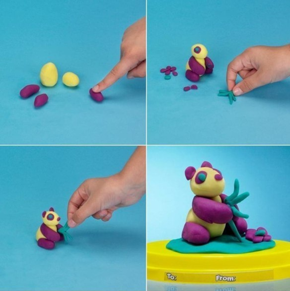Arts And Crafts Of Plasticine For Children Do It Yourself Arts And Crafts For Kids Crafts Crafts For Kids